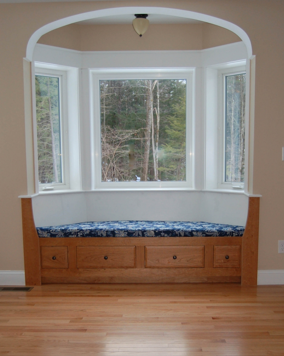 Select Cherry Bay Window Built-in